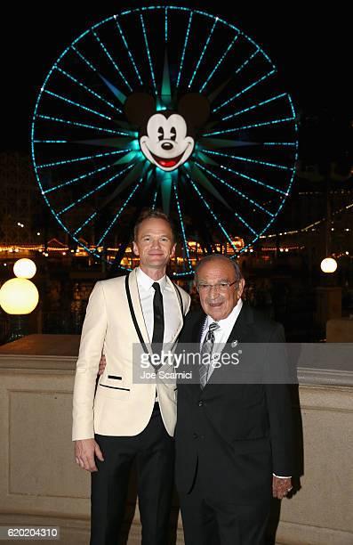 Actor Neil Patrick Harris and Recipient of Diane Disney Miller Lifetime Achievement Award Marty Sklar attend The Walt Disney Family Museum's 2nd...