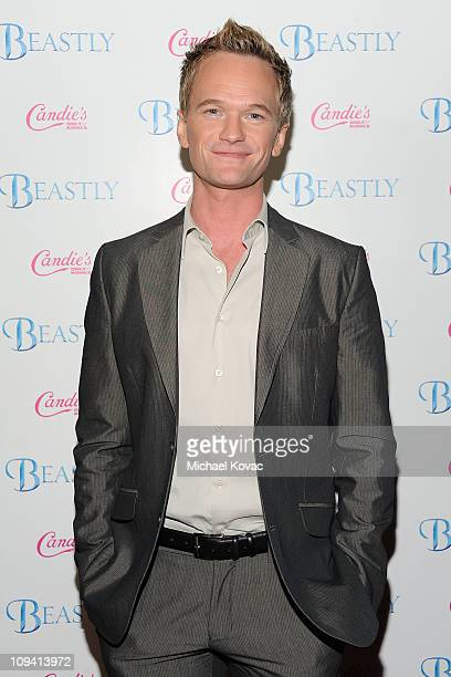 Actor Neil Patrick Harris arrives at Candie's Presents the Premiere of 'Beastly' starring Vanessa Hudgens and Alex Pettyfer on February 24 2011 in...