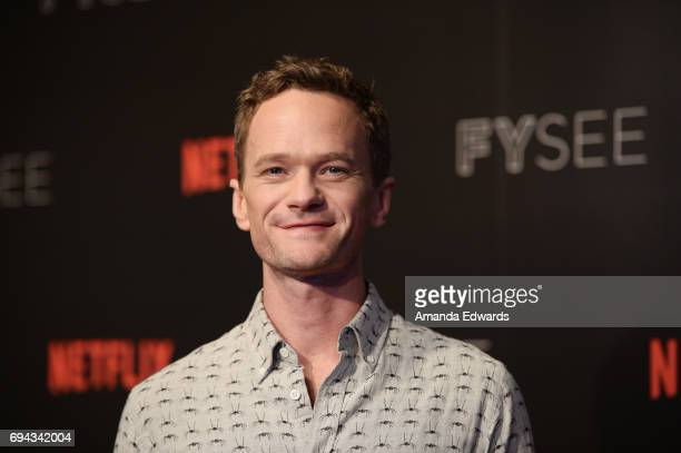 Actor Neil Patrick Harris arrives at Netflix's A Series Of Unfortunate Events FYC Event at the Netflix FYSee Space on June 9 2017 in Beverly Hills...