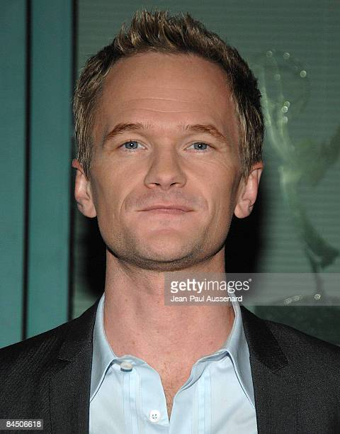 Actor Neil Patrick Harris arrives at the 'How I Met Your Mother' panel held at the Leonard H Goldenson Theatre on January 27th 2009 in North...