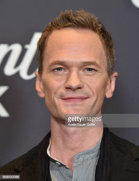 Actor Neil Patrick Harris arrives at the Lip Sync Battle LIVE A Michael Jackson Celebration at Dolby Theatre on January 18 2018 in Hollywood...