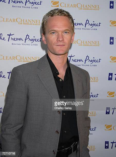 Actor Neil Patrick Harris arrives at The Trevor Project's 9th annual Cracked XMas 'Mistletoe Mischief Myrrh' event which honored actress Roseanne...
