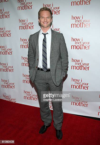 Actor Neil Patrick Harris attends an academy screening of 'How I Met Your Mother' at McGee's Bar and Grill on June 03 2008 in New York City