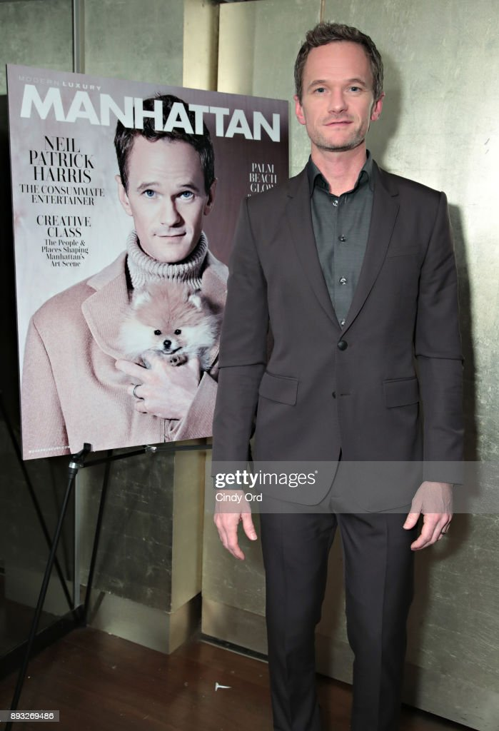 Manhattan Magazine and Neil Patrick Harris Celebrate the December Issue at Mr. Chow NYC Tribeca
