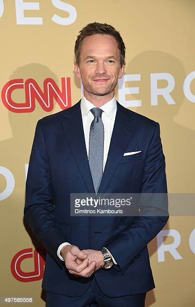 Actor Neil Patrick Harris attends CNN Heroes 2015 Red Carpet Arrivals at American Museum of Natural History on November 17 2015 in New York City...