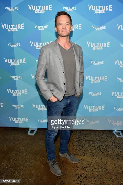 Actor Neil Patrick Harris attends Neil Patrick Harris In Conversation in the ATT Studio during the 2017 Vulture Festival at Milk Studios on May 21...