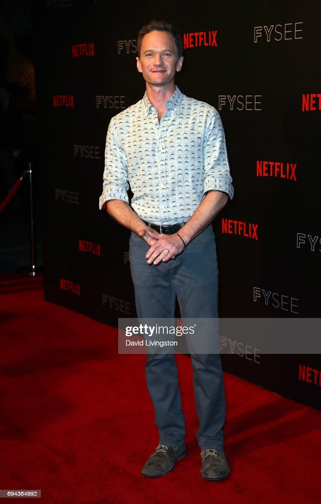 Actor Neil Patrick Harris attends Netflix's 'A Series of Unfortunate Events' FYC event at Netflix FYSee Space on June 9, 2017 in Beverly Hills, California.