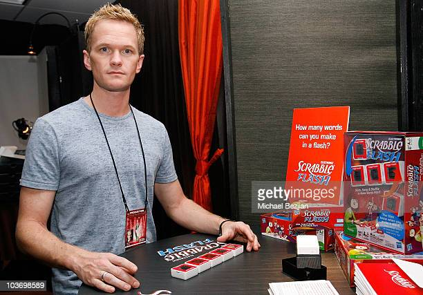 Actor Neil Patrick Harris attends PF Chang's Home Menu Frozen Moments Gift Lounge backstage celebrating the 62nd Primetime Emmy Awards by On 3...