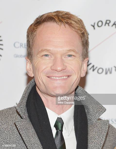 Actor Neil Patrick Harris attends the 2014 The New York Philharmonic Spring Gala featuring Sweeney Todd The Demon Barber of Fleet Street at Josie...
