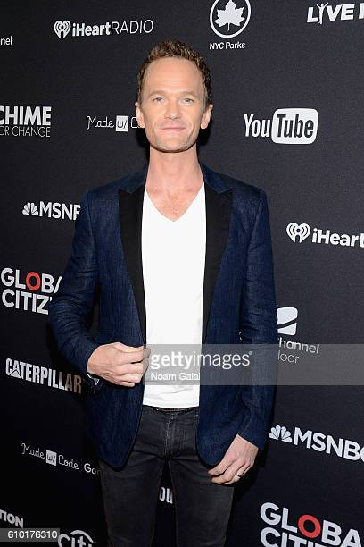 Actor Neil Patrick Harris attends the 2016 Global Citizen Festival In Central Park To End Extreme Poverty By 2030 at Central Park on September 24...