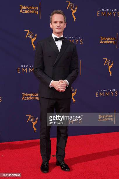 Actor Neil Patrick Harris attends the 2018 Creative Arts Emmy Awards at Microsoft Theater on September 8 2018 in Los Angeles California