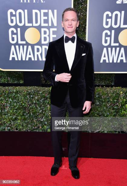 Actor Neil Patrick Harris attends The 75th Annual Golden Globe Awards at The Beverly Hilton Hotel on January 7 2018 in Beverly Hills California