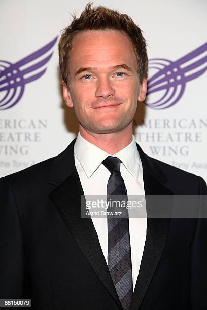Actor Neil Patrick Harris attends the American Theatre Wing's 2009 Spring Gala at Cipriani 42nd Street on June 1 2009 in New York City