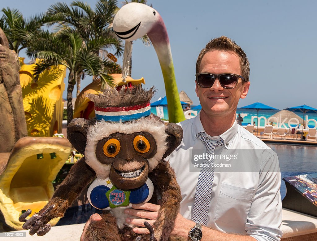 Actor Neil Patrick Harris attends the 'Cloudy With A Chance Of Meatballs 2' photo call at The 5th Annual Summer Of Sony at the Ritz Carlton Hotel on April 22, 2013 in Cancun, Mexico.
