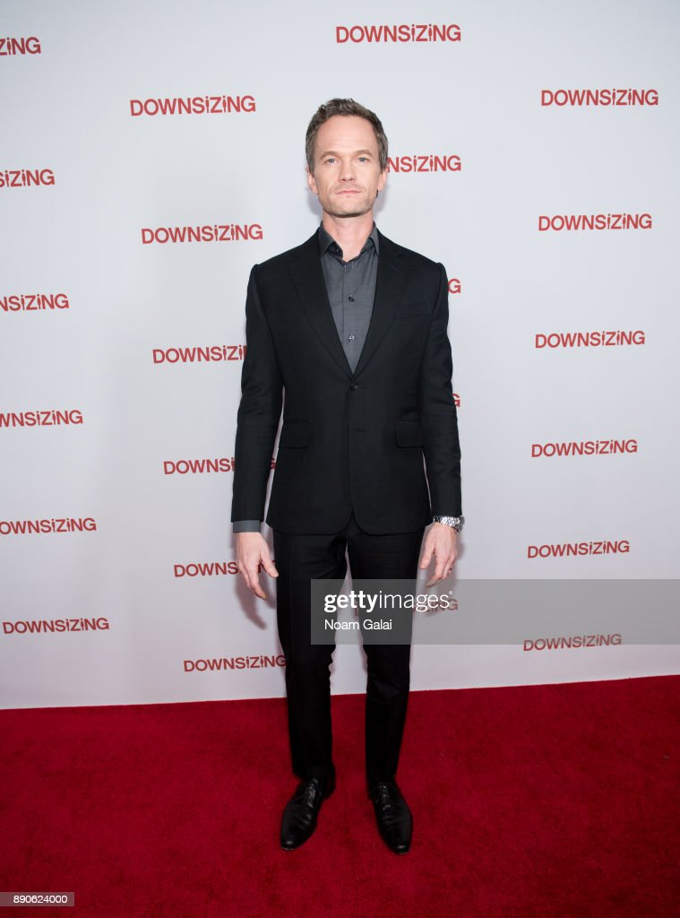 Actor Neil Patrick Harris attends the 'Downsizing' New York screening at AMC Lincoln Square Theater on December 11, 2017 in New York City.
