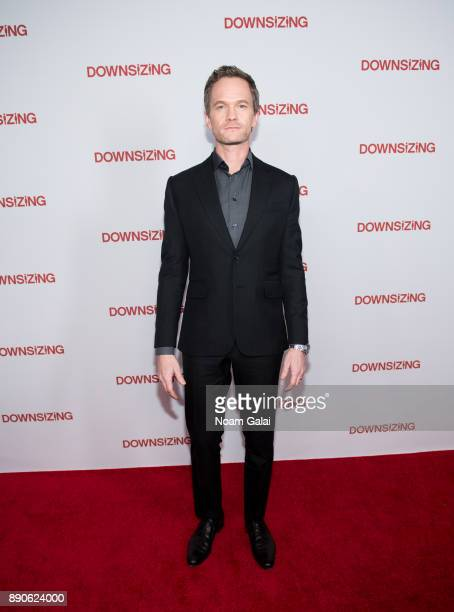 Actor Neil Patrick Harris attends the 'Downsizing' New York screening at AMC Lincoln Square Theater on December 11 2017 in New York City