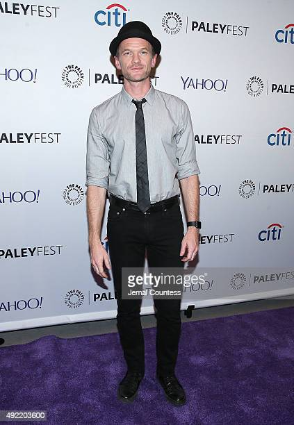 Actor Neil Patrick Harris attends the 'Dr Horrible's SingAlong Blog Reunion' during the PaleyFest New York 2015 at The Paley Center for Media on...