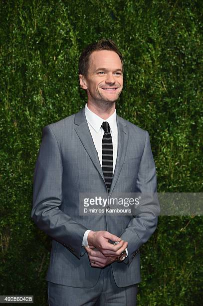 Actor Neil Patrick Harris attends the God's Love We Deliver Golden Heart Awards at Spring Studio on October 15 2015 in New York City