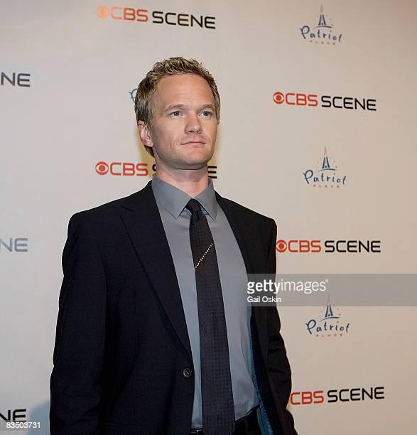 Actor Neil Patrick Harris attends the grand opening of the CBS Scene Restaurant Bar on September 6 2008 in Boston Massachusetts