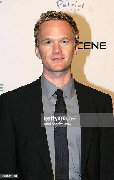 Actor Neil Patrick Harris attends the grand opening of the CBS Scene Restaurant Bar at Patriot Place September 6 2008 in Foxboro Massachusetts