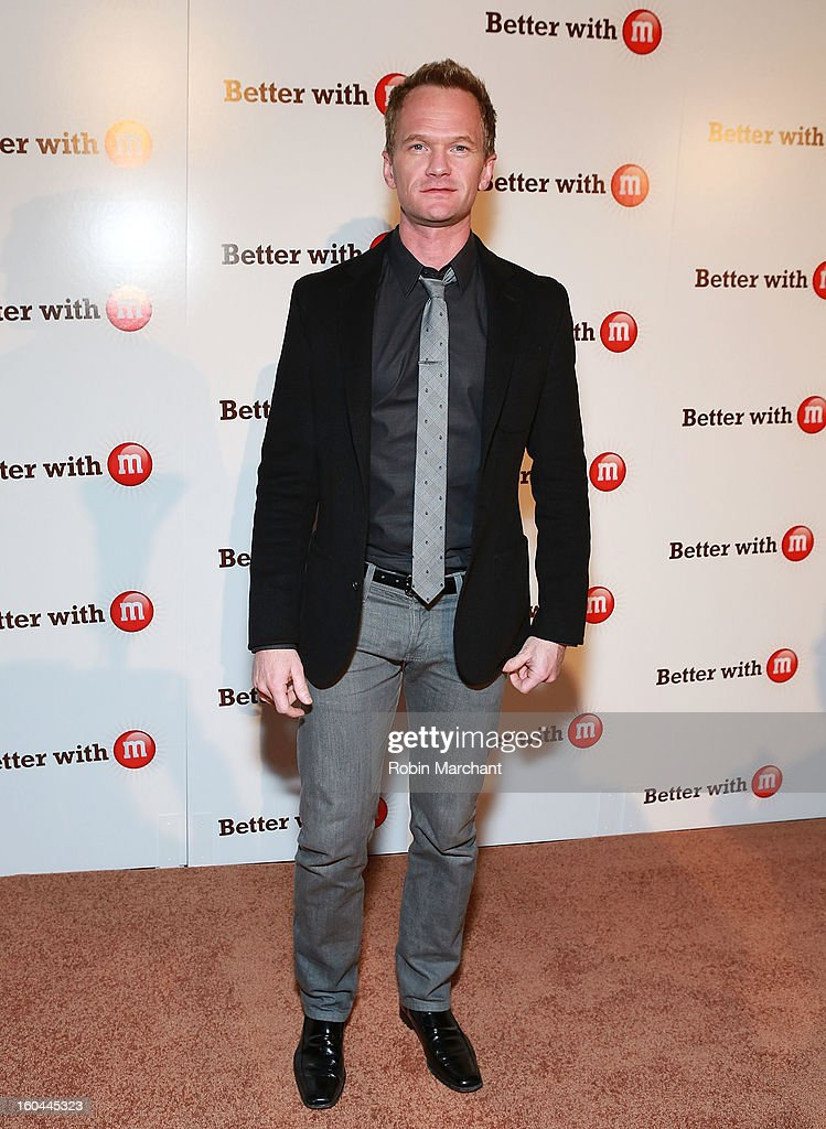 Actor Neil Patrick Harris attends the M&M's Better With M Party at The Foundry on January 31, 2013 in New Orleans, Louisiana.