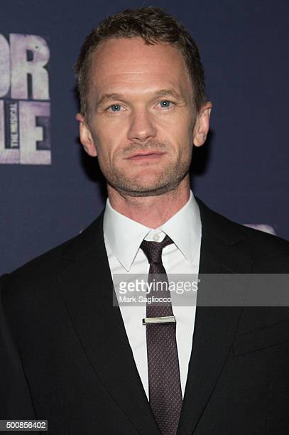Actor Neil Patrick Harris attends the 'The Color Purple' Broadway Opening Night at The Bernard B Jacobs Theatre on December 10 2015 in New York City