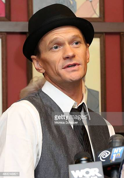 Actor Neil Patrick Harris attends U.S. Senator Charles E. Schumer announces his campaign to give Broadway and live theater productions a major tax...