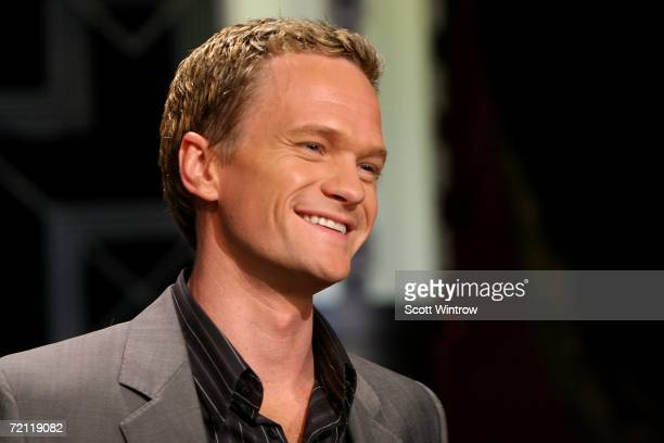 Actor Neil Patrick Harris during a rehearsal for Celebrity Jeopardy at Radio City Music Hall on October 08,2006 in New York City.