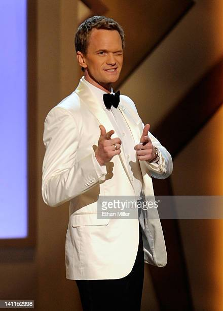 Actor Neil Patrick Harris hosts the opening night of The Smith Center for the Performing Arts on March 10 2012 in Las Vegas Nevada