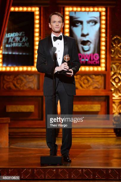 Actor Neil Patrick Harris speaks onstage during the 68th Annual Tony Awards at Radio City Music Hall on June 8 2014 in New York City