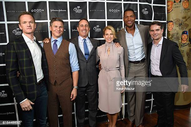 Actor Neil Patrick Harris TV Personality David Burtka Host Jerry Seinfeld Founder and President of GOOD Foundation Jessica Seinfeld TV Personality...