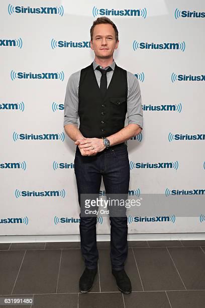 Actor Neil Patrick Harris visits the SiriusXM Studios on January 18 2017 in New York City