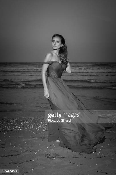 Actor Nelly Karim is photographed on September 7 2016 in Venice Italy