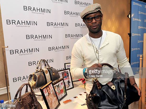 Actor Nelsan Ellis attends the HBO Luxury Lounge in honor of the 68th Annual Golden Globe Awards at The Four Seasons Hotel on January 15 2011 in...