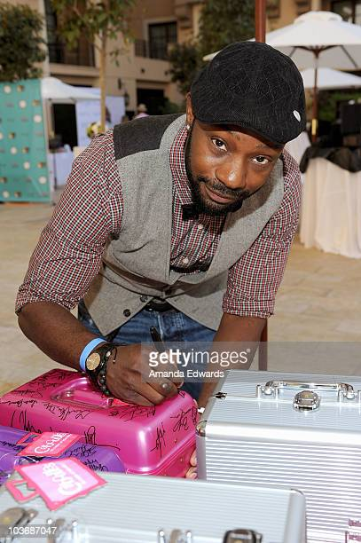 Actor Nelsan Ellis attends the Kari Feinstein Primetime Emmy Awards Style Lounge Day 2 held at Montage Beverly Hills hotel on August 27 2010 in...