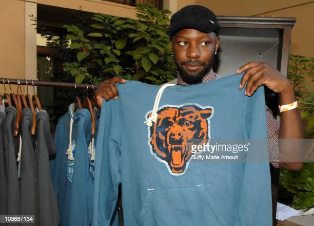Actor Nelsan Ellis poses at Retro Sport booth during Kari Feinstein Primetime Emmy Awards Style Lounge Day 2 held at Montage Beverly Hills hotel on...