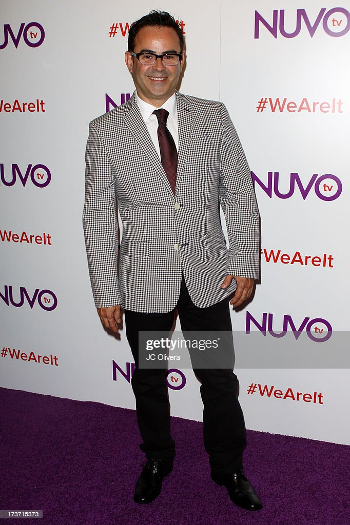 Actor Nelson Ascencio attends NUVOtv Network Launch Party at The London West Hollywood on July 16, 2013 in West Hollywood, California.