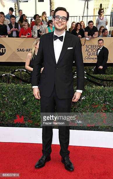 Actor Nelson Franklin attends The 23rd Annual Screen Actors Guild Awards at The Shrine Auditorium on January 29, 2017 in Los Angeles, California....