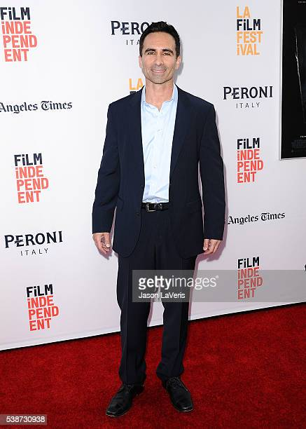 Actor Nestor Carbonell attends the premiere of The Conjuring 2 at the 2016 Los Angeles Film Festival at TCL Chinese Theatre IMAX on June 7 2016 in...