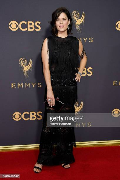 Actor Neve Campbell attends the 69th Annual Primetime Emmy Awards at Microsoft Theater on September 17 2017 in Los Angeles California