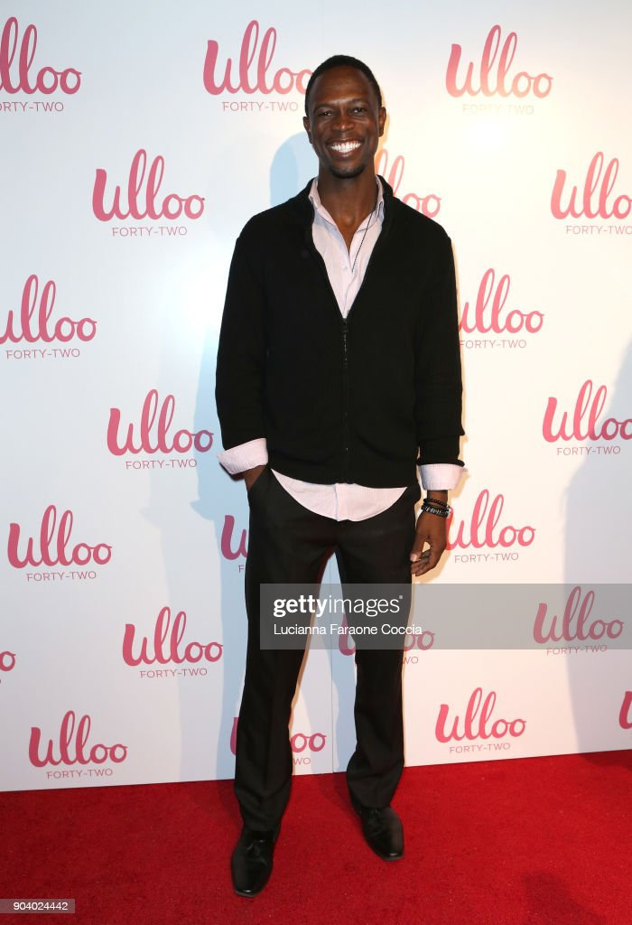 Actor Newton Mayenge attends Ulloo 42 Launch Party on January 11, 2018 in Los Angeles, California.