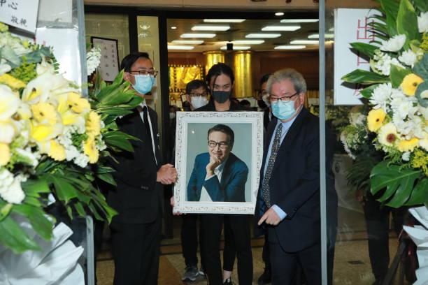CHN: Ng Man-tat's Funeral Ceremony In Hong Kong
