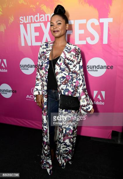 Actor Nia Long attends 2017 Sundance NEXT FEST at The Theater at The Ace Hotel on August 11 2017 in Los Angeles California