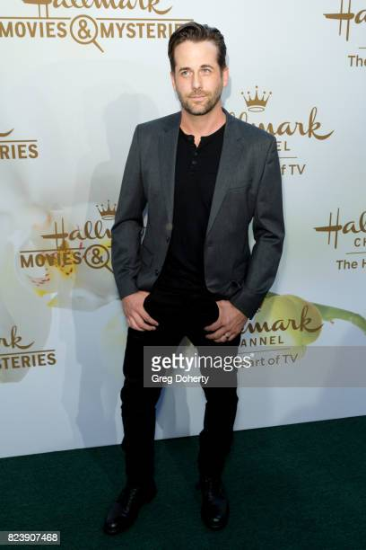Actor Niali Matter arrives for the 2017 Summer TCA Tour Hallmark Channel And Hallmark Movies And Mysteries on July 27 2017 in Beverly Hills California