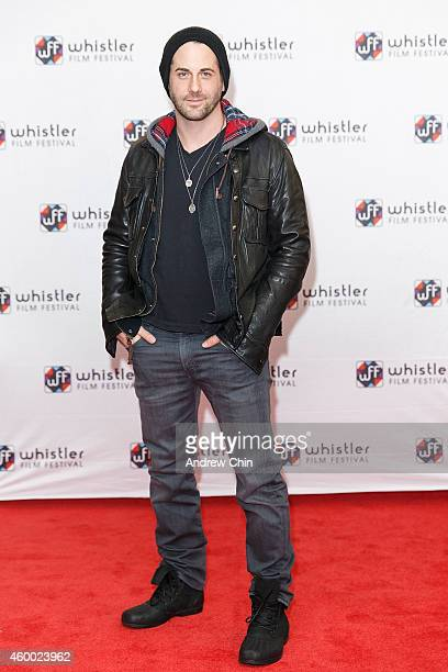 Actor Niall Matter arrives at the premiere screening of 'Ally Was Screaming' at Whistler Film Festival on December 5 2014 in Whistler Canada