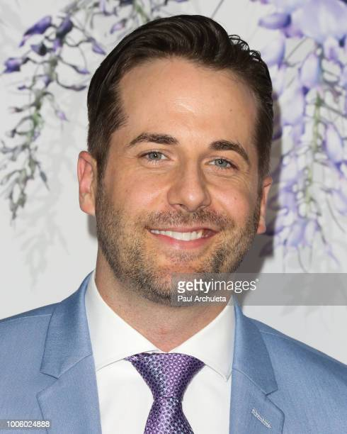 Actor Niall Matter attends the 2018 Hallmark Channel Summer TCA at Private Residence on July 26 2018 in Beverly Hills California