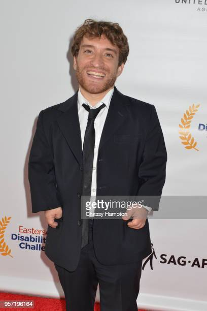 Actor Nic Novicki arrives on the red carpet of United Talent Agency's 5th Annual Easterseals Disability Film Challenge Awards Ceremony at United...