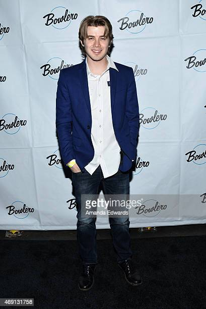 Actor Nicholas Adam Clark arrives at the Bowlero Mar Vista celebrity grand opening at Bowlero on April 9 2015 in Mar Vista California