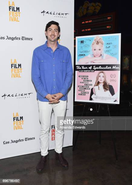 Actor Nicholas Braun attends the 2017 Los Angeles Film Festival premiere of 'The Year Of Spectacular Men' at ArcLight Santa Monica on June 16 2017 in...