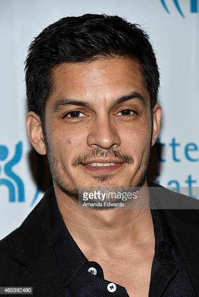 Actor Nicholas Gonzalez arrives at the 2nd Annual Hollywood Heals Spotlight On Tourette Syndrome event at the House of Blues Sunset Strip on March 5...